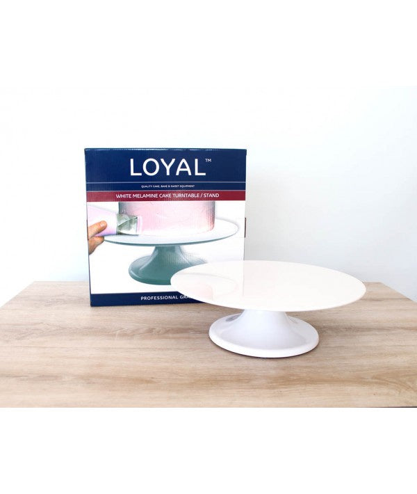 LOYAL WHITE TURNTABLE