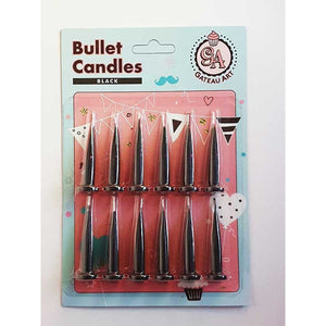 BLACK BULLET CANDLE 12 PACK