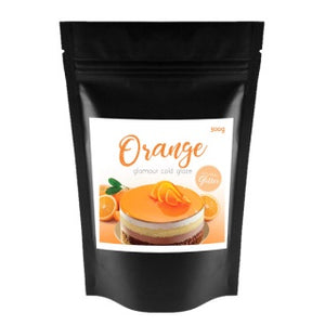 ORANGE GLAMOUR COLD GLAZE | 200G