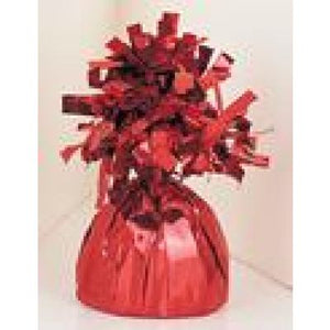 FOIL BALLOON WEIGHT RED