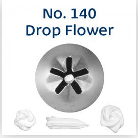LOYAL | #140 DROP FLOWER | PIPING TUBE | STAINLESS STEEL