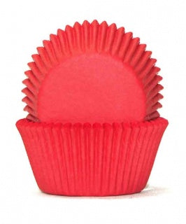 408 BAKING CUPS - RED - 100 PIECE PACK