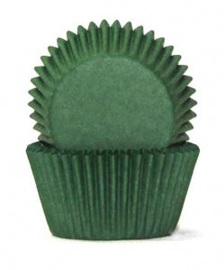 700 BAKING CUPS - DARK GREEN - 100 PIECE PACK