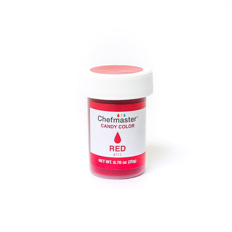 CHEFMASTER | CANDY COLOUR | 20G | RED