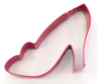 HIGH HEEL SHOE | COOKIE CUTTER | PINK