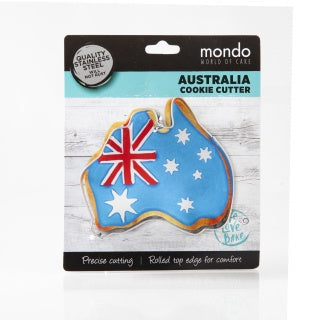 MONDO MAP OF AUSTRALIA COOKIE CUTTER