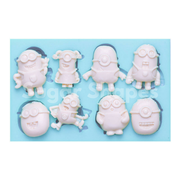 SILICONE MOULD MINION 8PC