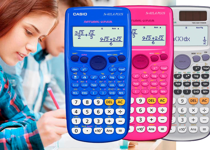 Calculadoras Casio