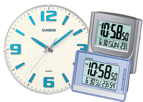 Relojes Casio De Pared y Despertadores