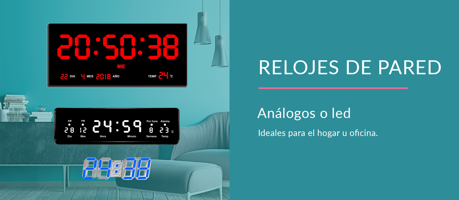 Relojes Pared