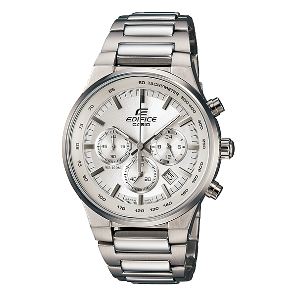 Reloj Casio Edifice EF500BP Metal Blanco