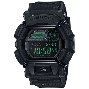 Reloj Casio G-Shock GD400 Negro con Verde Super LED
