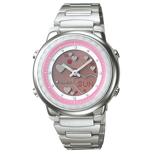 Reloj Casio LAW25 Metal Rosa