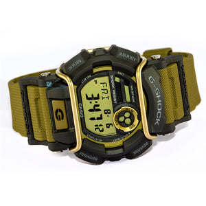 Reloj Casio G-Shock GD400 Café con Negro Super LED