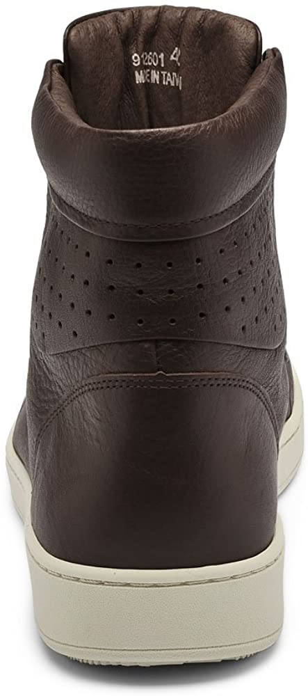 TRAVEL FOX Unisex 900 Nappa Leather Round Toe Lace-Up High-Tops