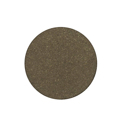 A frosted deep Army green single eyeshadow. Beautiful, long-lasting color.