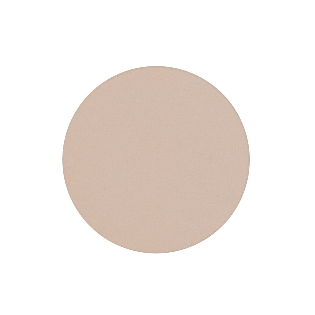 A matte very light nude single eyeshadow. Beautiful, long-lasting color.