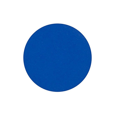 A matte cobalt blue single eyeshadow. Beautiful, long-lasting color.