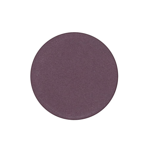 A matte deep plum single eyeshadow. Beautiful, long-lasting color.