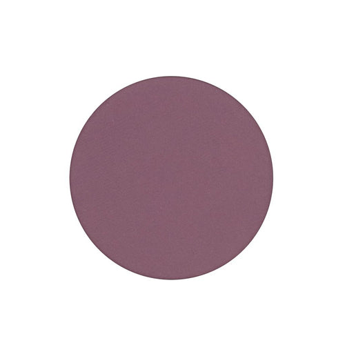 A matte dark raspberry single eyeshadow. Beautiful, long-lasting color.