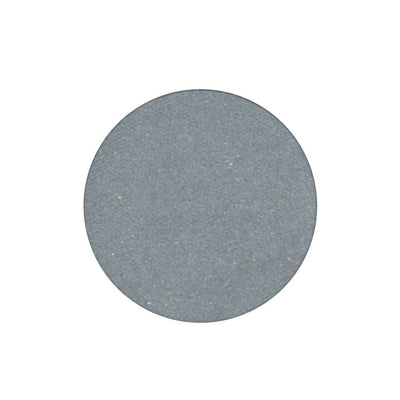 A frosted silver single eyeshadow. Beautiful, long-lasting color.