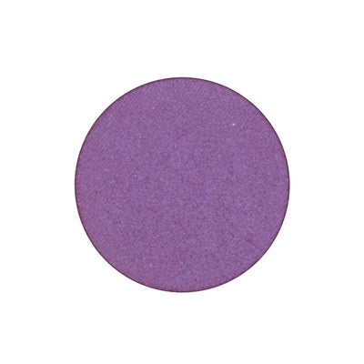 A frosted fuchsia with a purple shift single eyeshadow. Beautiful, long-lasting color.
