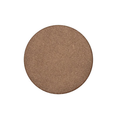 A frosted light copper single eyeshadow. Beautiful, long-lasting color.