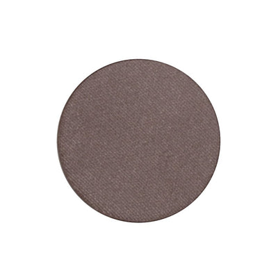 A frosted deep lavender gray single eyeshadow. Beautiful, long-lasting color.
