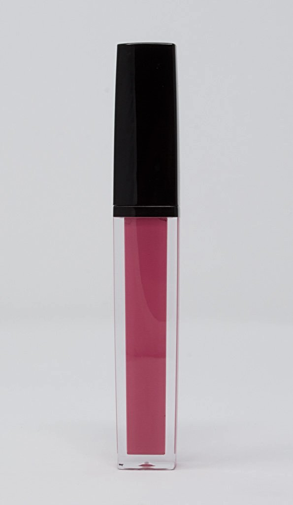 A rosy pink matte liquid lipstick. Gorgeous color that lasts all day!
