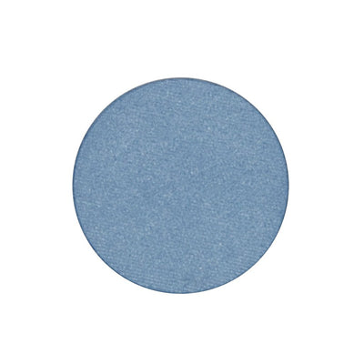 A frosted denim blue single eyeshadow. Beautiful, long-lasting color.