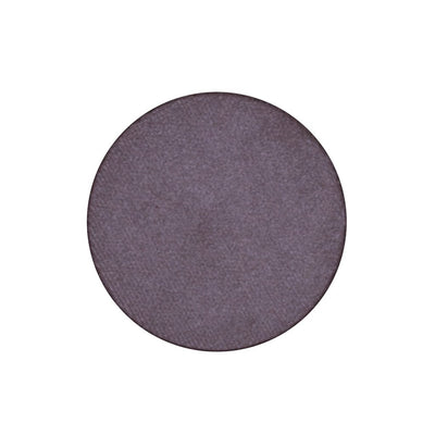 A frosted deep purple single eyeshadow. Beautiful, long-lasting color.
