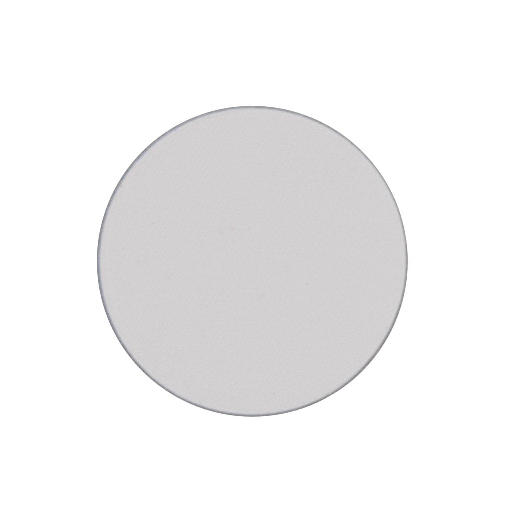 A matte white single eyeshadow. Beautiful, long-lasting color.
