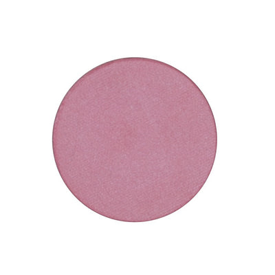 A frosted bubble gum pink single eyeshadow. Beautiful, long-lasting color.