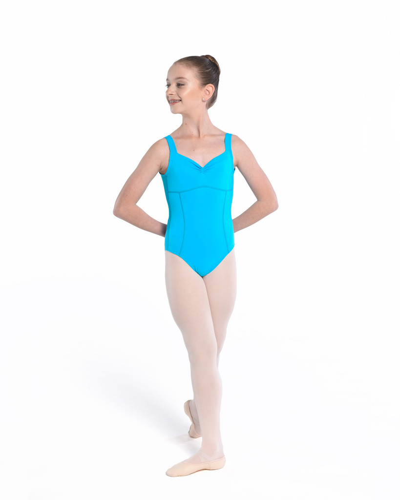 Collections by Claudia Signature Collection Aurora Leotard in Ocean Blue