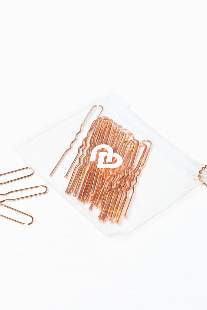 Rose Gold Bun Pins