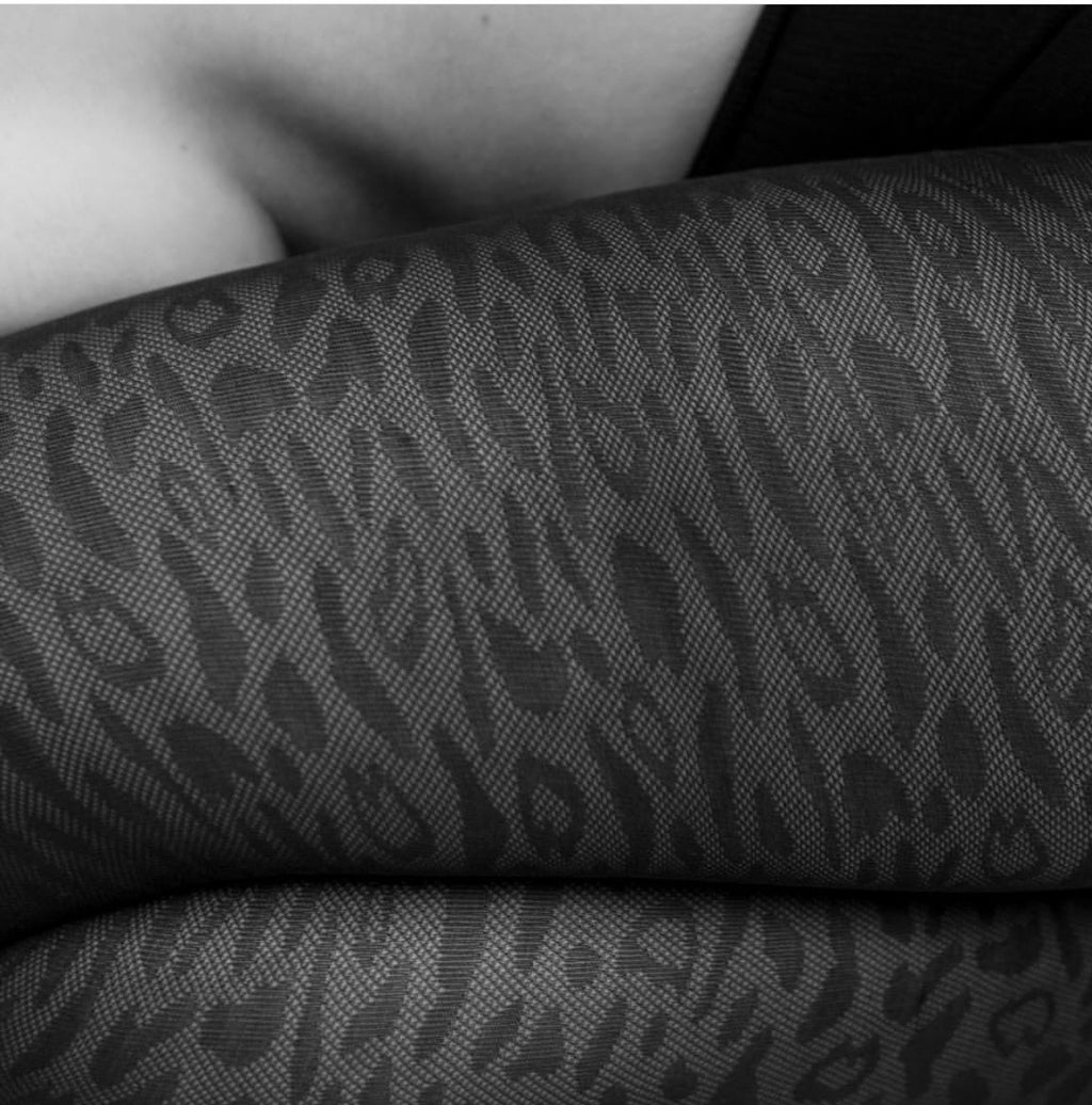 Emma Leopard Tights
