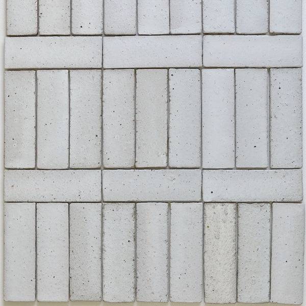 Pascalli Rectangular Tile White Satin Matt