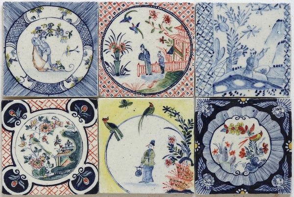 HAND PAINTED ART TILES 130x130
