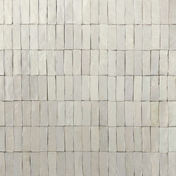 Rectangular marbled Klompie Tile Warm Grey Glaze