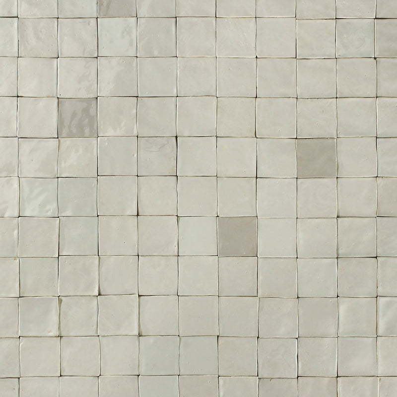 Linen Ecru to Cream Glazed Tile