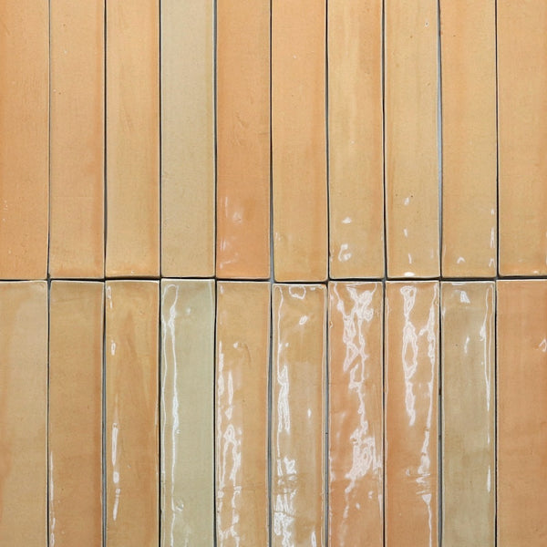 Rectangular Tile Fabrica Tan Gloss