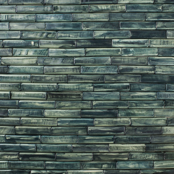 Rectangular Faceted Pipe Tile Greens