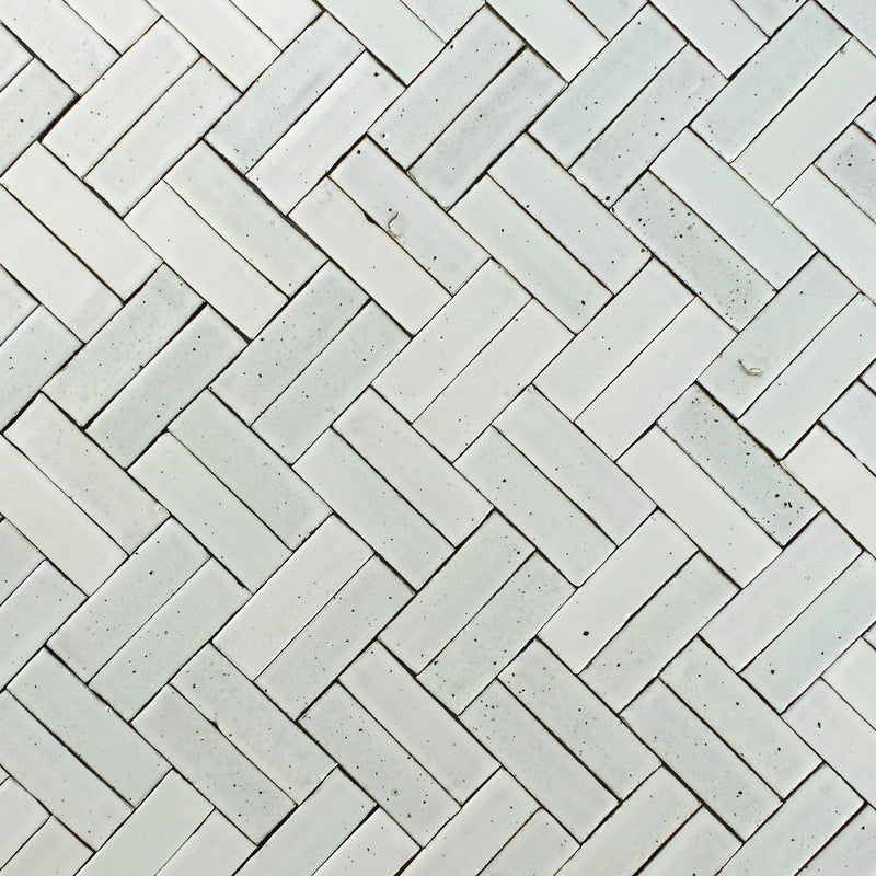 Pascalli Rectangular Tile Cream Satin Glaze