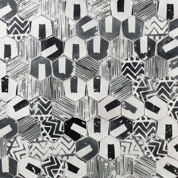 Medium Hexagon Pattern Tile