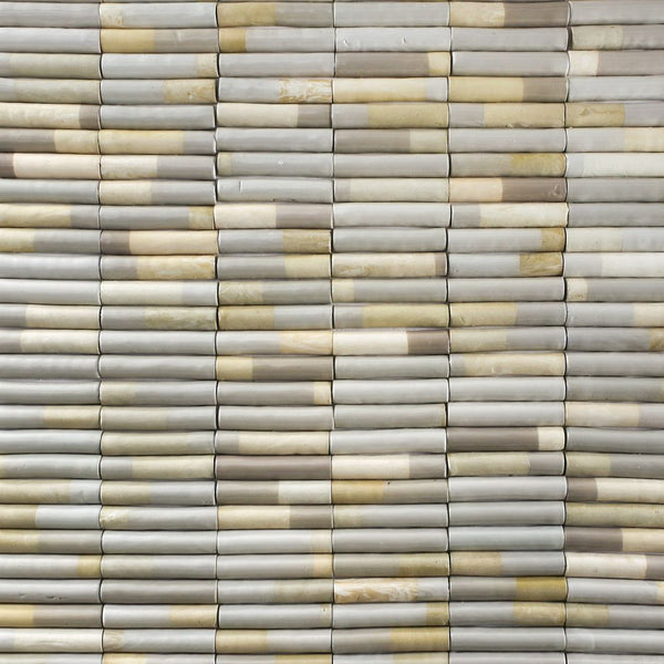 Light Marble Pipe tiles Linen