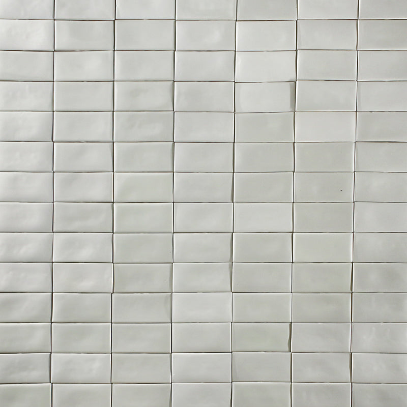 Glazed White Metro Tile