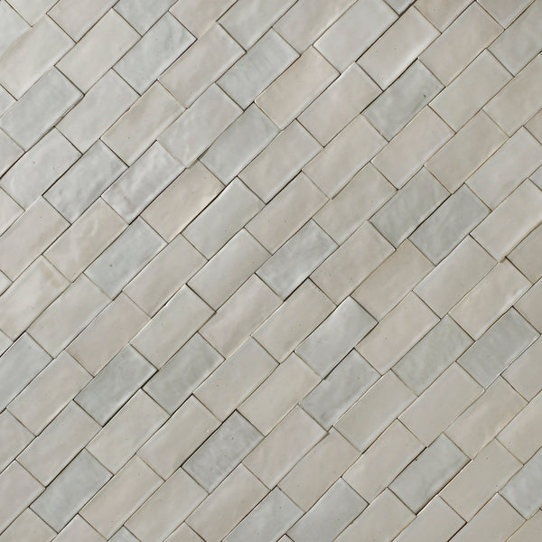 Rectangular Metro Tile Warm Whites