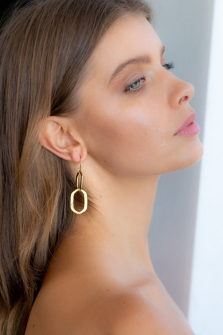 ALC03 Double oval Earring