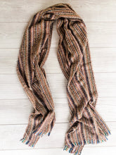 Load image into Gallery viewer, Brown Striped Scarf