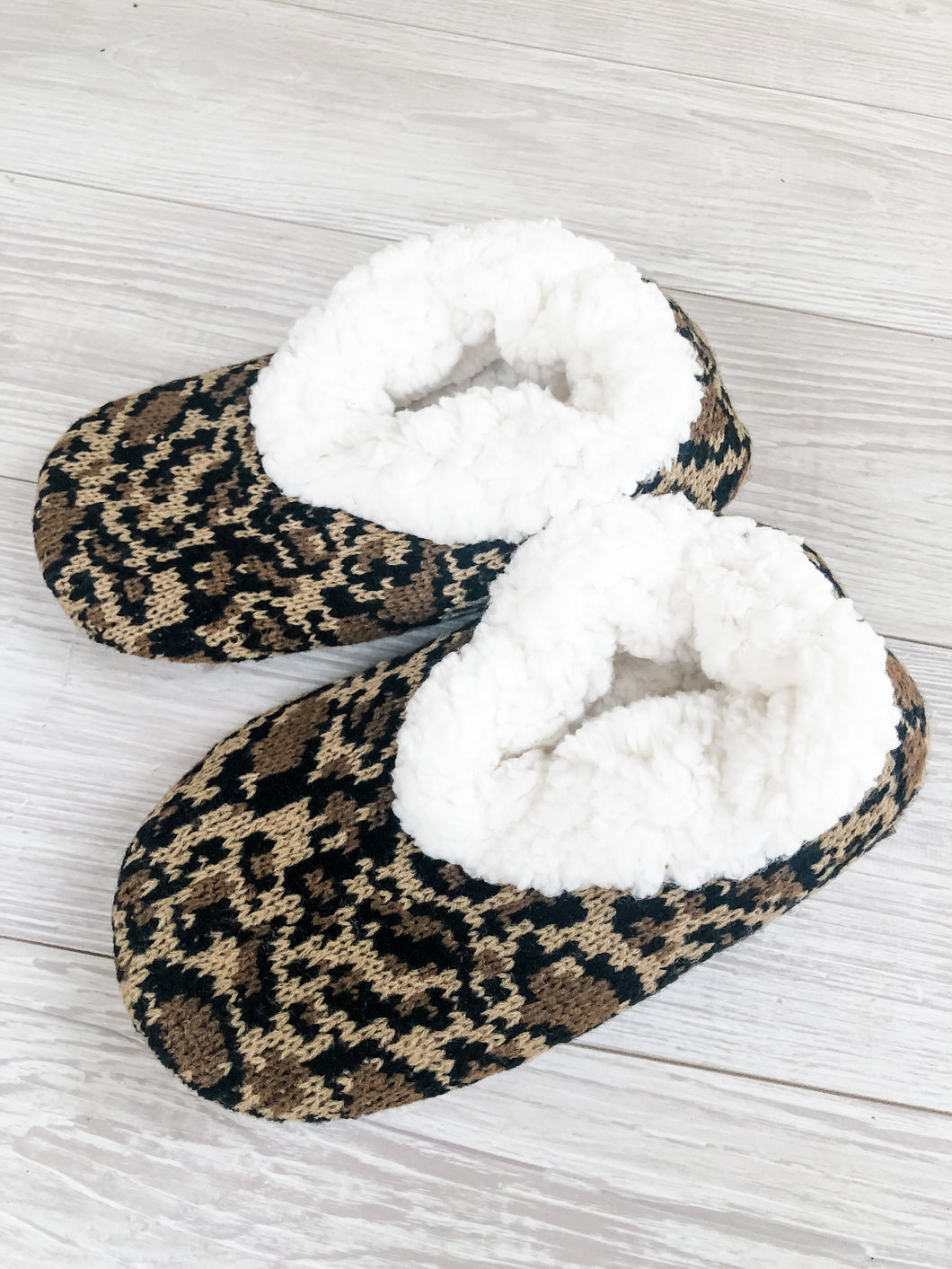 Leopard Cozy Slippers